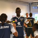 Training with FC Sochaux1